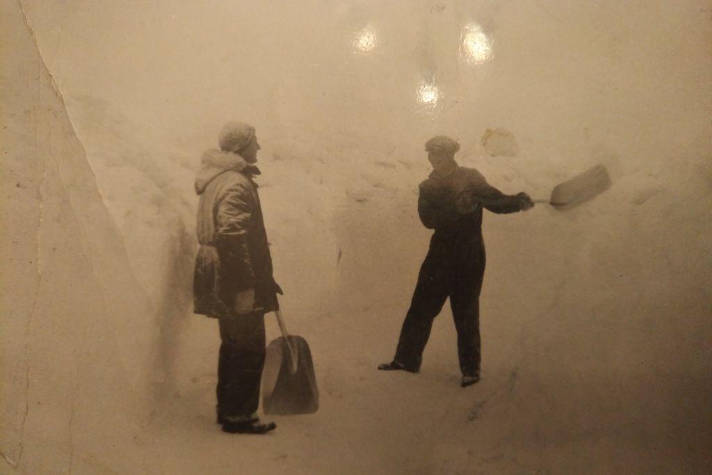 1955 snow storm